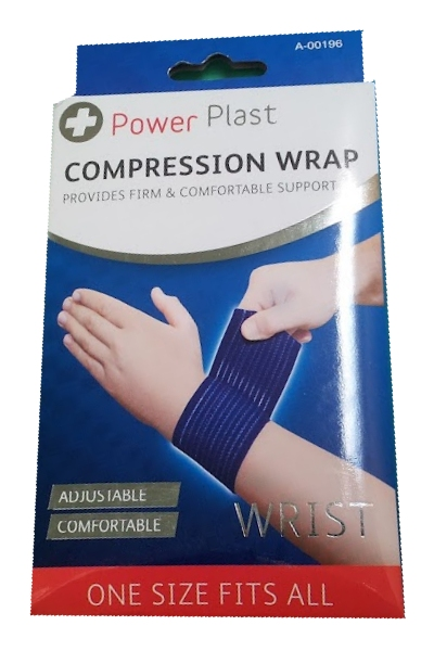 Wrist Compression Wrap Power Plast