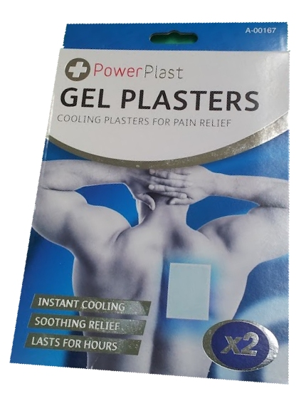 Cooling Gel Plaster 14cm x 10cm (Twin Pack)