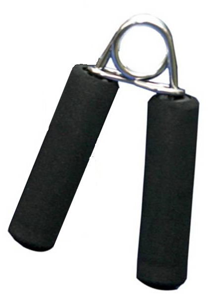 Hand Grips Foam Handle Hard Resistance (Single).
